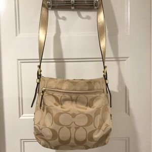 Handbags - Coach Gold Bag